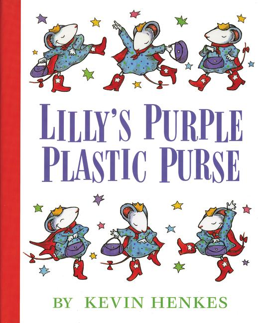 Lilly's Purple Plastic Purse