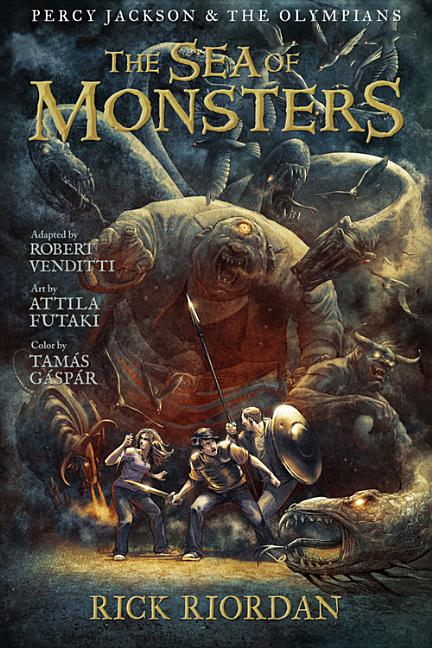 The Sea of Monsters (The Graphic Novel)