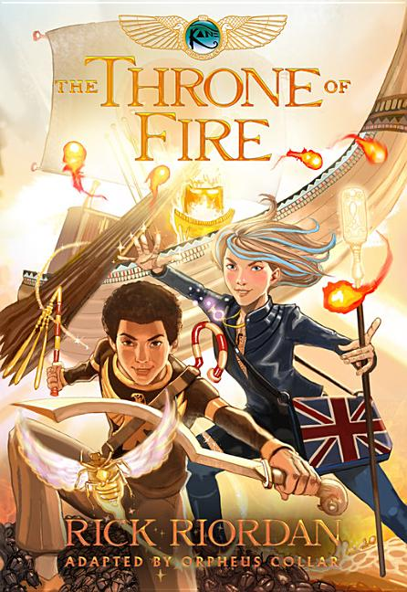 The Throne of Fire: Graphic Novel