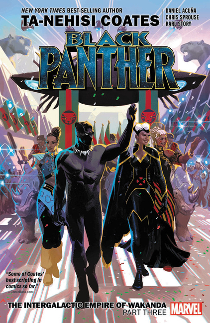 Black Panther Vol. 8: The Intergalactic Empire of Wakanda, Part 3