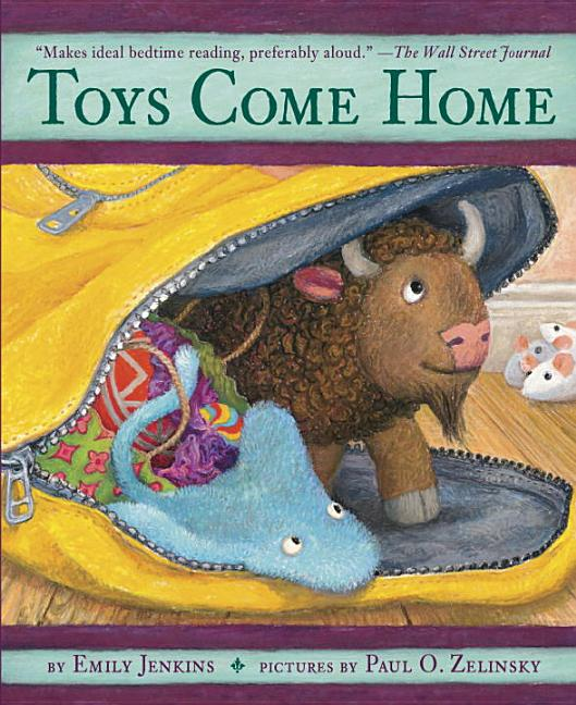 Toys Come Home: Being the Early Experiences of an Intelligent Stingray, a Brave Buffalo, and…