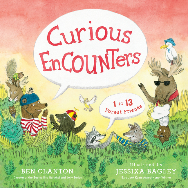 Curious Encounters: 1 to 13 Forest Friends