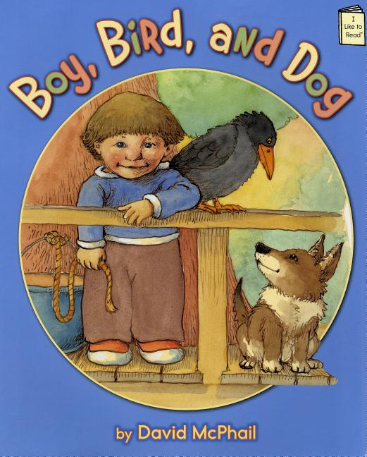 Boy, Bird, and Dog