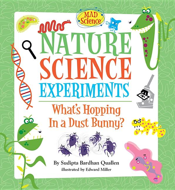 Nature Science Experiments: What's Hopping in a Dust Bunny?